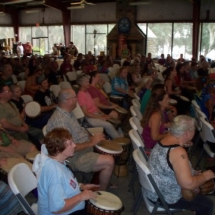 audience during buddy helm 10-12