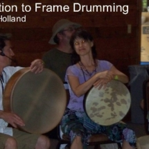 frame drumming with Dave Holland