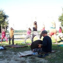 yoga with hang drum 10-14